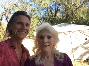 William with Judy Collins