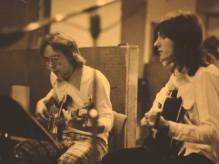 Woody and WIlliam 1972.
