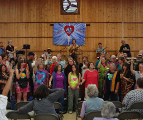 Declaring peace with the 'Love Choir'