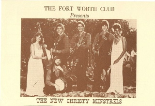 William and Nanette with the famous 60s group The New Christy Minstrels